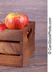 apple in a box