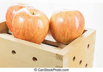 Apple in box