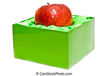 apple is in packing