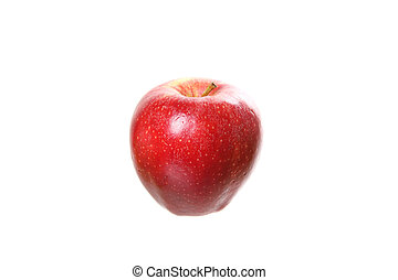 Apple isolated in white background