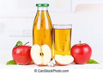 Apple juice apples fruit fruits bottle copyspace