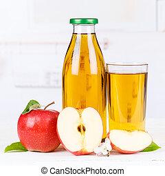 Apple juice apples fruit fruits bottle square copyspace