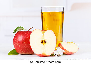 Apple juice fruit apples drink glass