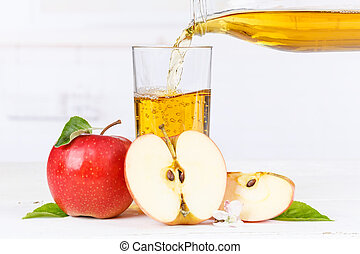 Apple juice pouring pour apples fruit fruits copyspace