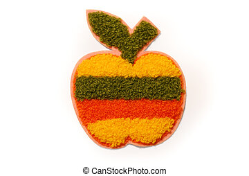 Apple - knit apple