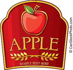 apple label
