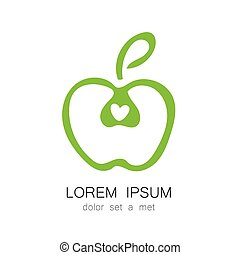 apple logo identity