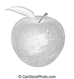 apple made ??of stone