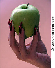 Apple of the temptat - feminine temptation