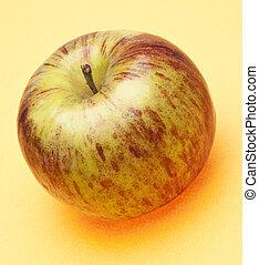 Apple on Yellow
