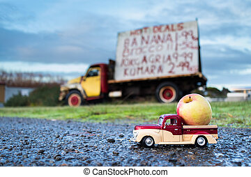 Apple Pickup Truck