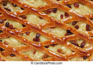 Apple Pie Close-up