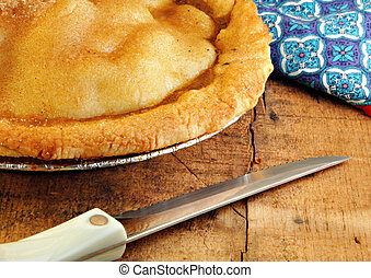 Apple Pie Fresh from the Oven