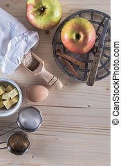Apple Pie Making