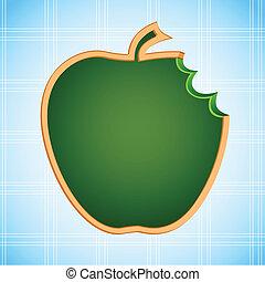 Apple Shape Chalk Board