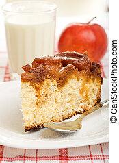 Apple sponge cake breakfast - Home made apple sponge cake ...