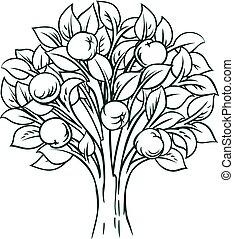 Apple Tree Concept