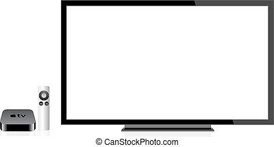 Apple TV Wireless Remote Control eps 10