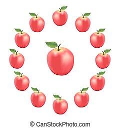Apple Wheel, Pink