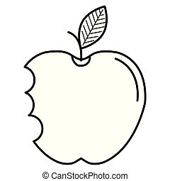 apple with bite icon