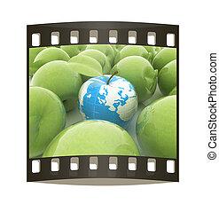 apples., הארק תפוח עץ, סרט מתפשט