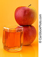 Apples and juice