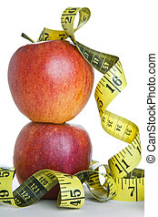Apples and Tape Measure