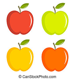 Apples collection