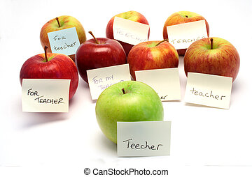 Apples for teacher