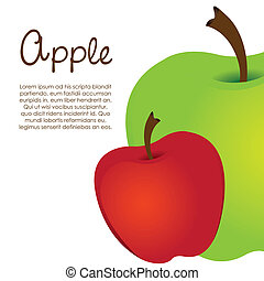 Apples - Green adn red apples