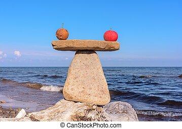 Apples healthy balance