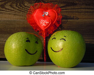apples in love