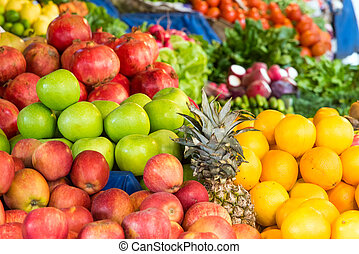 Apples, oranges and other fruits