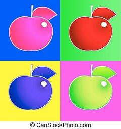 Apples. Set