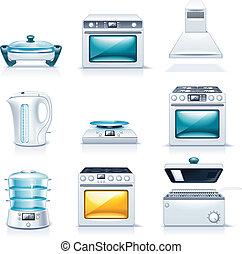 appliances., casa, vector, p.2