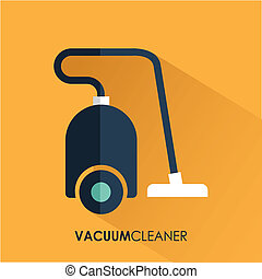 Appliances design over yellow background, vector ...