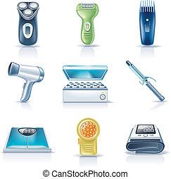 appliances., ménage, vecteur, p.5