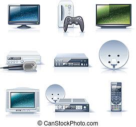 appliances., ménage, vecteur, p.6