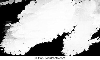 application, acrylique, surface, peinture, 1920x1080, blanc...