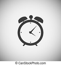 application, bois, montre, icônes