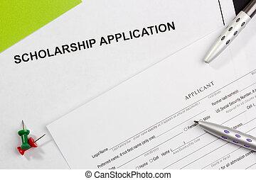 application, bourse