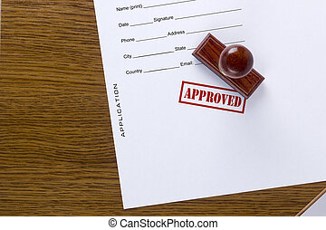 Application document approved