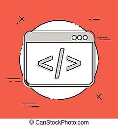 Application for editing digital code