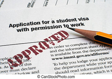 Application for student visa
