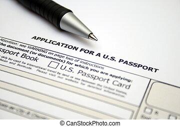 Application for US passport