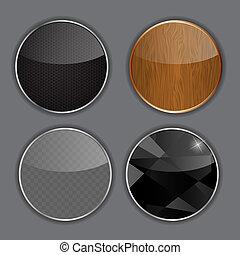 Application icons set vector illustration