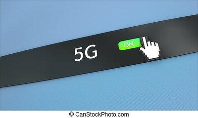 application, monture, 5g, connectivité
