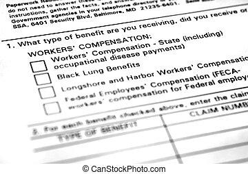 application, rémunération travailleurs, formulaire
