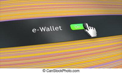 Application setting eWallet