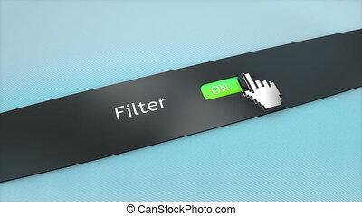 Application setting Filter